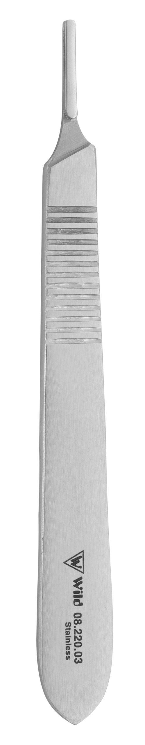 Klingenhalter Standard Figur 3 mit Flachgriff