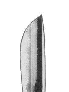 Skalpell mit Metallheft