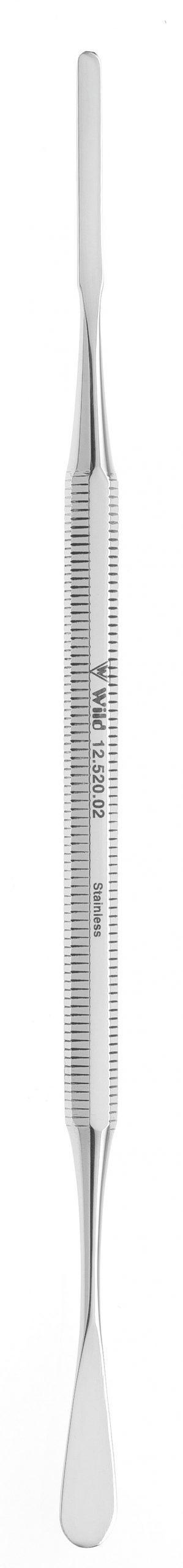 Fußpflegespatel -rund/gerade- 12.520.02zum Preis von 12.31 zzgl. Versand Hersteller : Heiko Wild