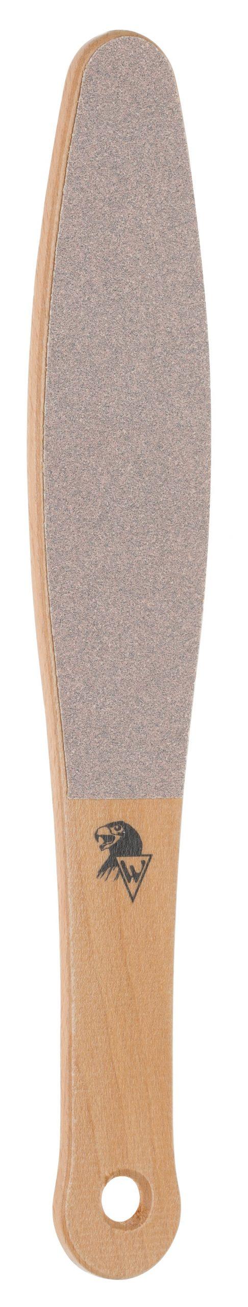 Holzfußfeile aus Naturbuche