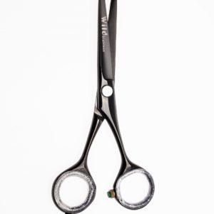 Haarschere mit  Hohlschliff